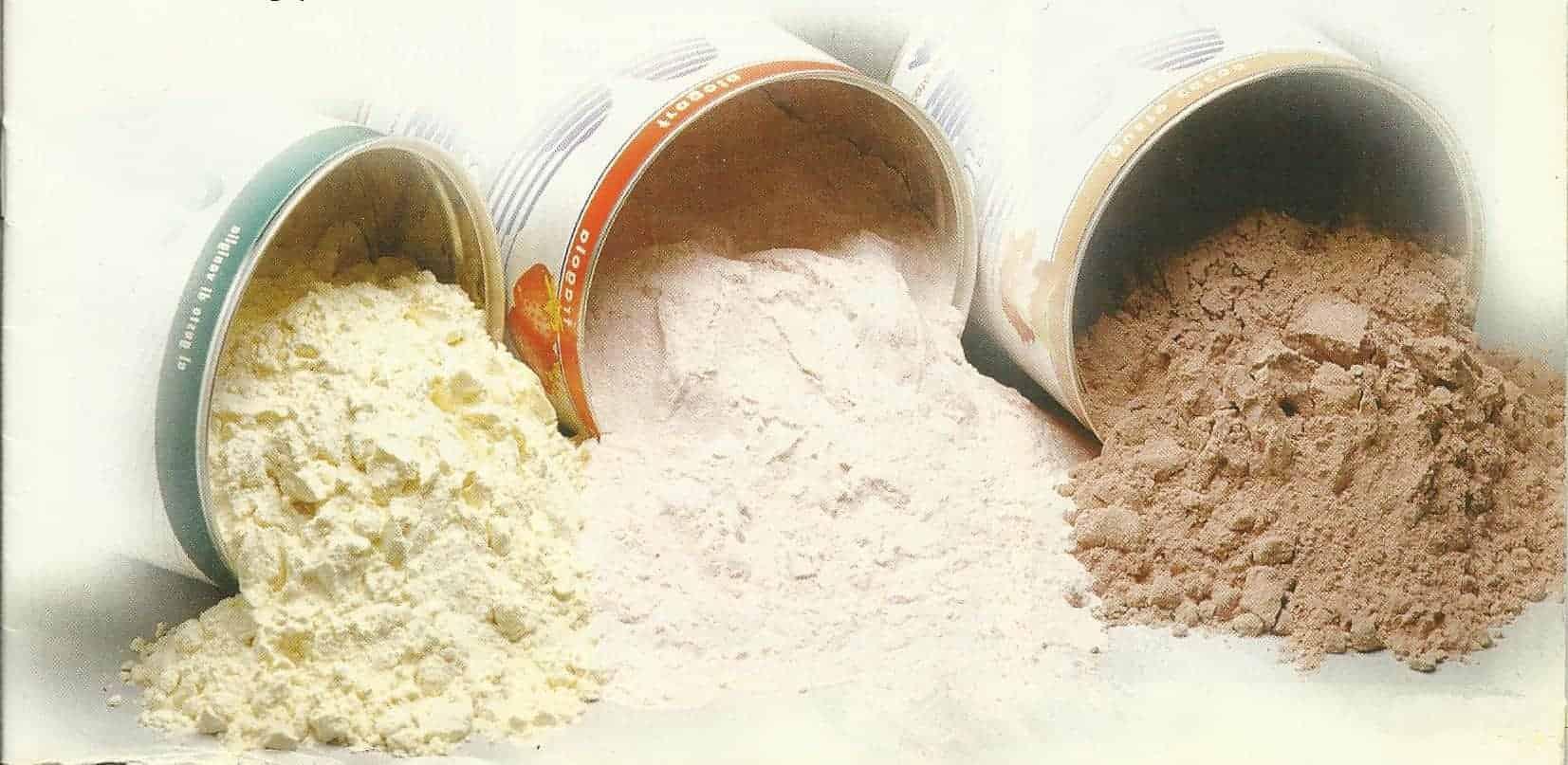 Proteine in polvere: istruzioni per l'uso