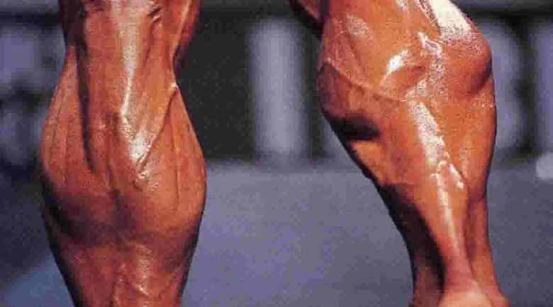 Scheda allenamento polpacci massa