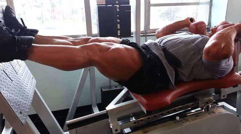 Superset per le gambe: crescita super