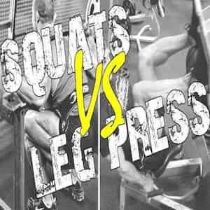Squat Vs Leg Press: qual è il miglior esercizio?