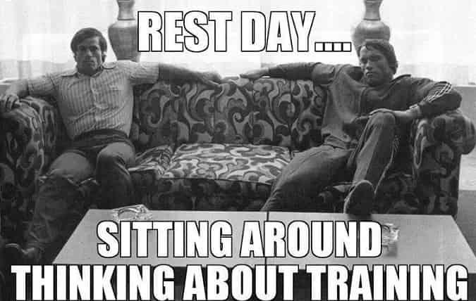 L'importanza del riposo per l'allenamento coi pesi