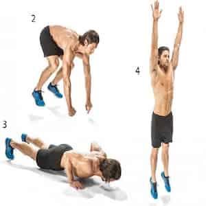 Burpees: allenamento Full Body